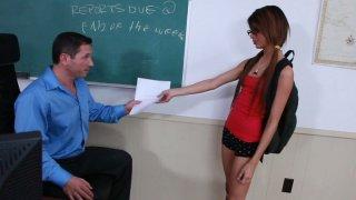 Dirty teen girl Veronica Rodriguez likes_it deeper image