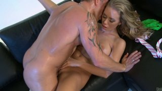 Outrageous beauty Nicole Aniston likes traditional sex with cock riding and missionary style image
