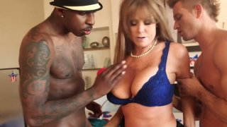 Horny_busty_mommy_Darla_Crane_is_fucked_hard_in_her_throat_and_pussy image