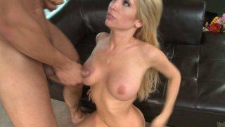 tasha bathroom video • Curvy blonde milf tasha reign having sex on the leather sofa image