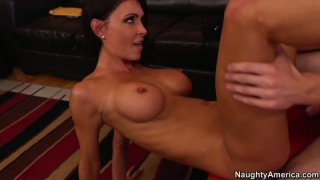 Slim girl with big peachy boobs Jessica Jaymes_gets fucked image