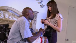 Dirty Dana DeArmond sucks fat and strong black cock deepthroat and gets pounded_from behind image