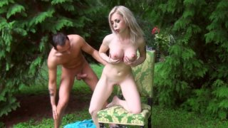 Isabella_clark_gets_her_twat_poked_on_the_green_lawn_in_the_yard ⁃ xena clark Porn movies image