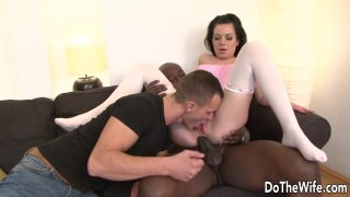 Cuckolding Wife Inga Devil Gets Her Asshole Stretched by a BBC image