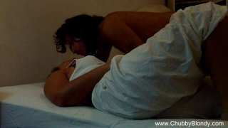 Amateur Italian Couple At Home image