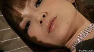 The hottest solo session with sexy Asian Yuria image