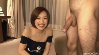 Image: Asian cutie Nene sucks the dick on_a cam for the first time