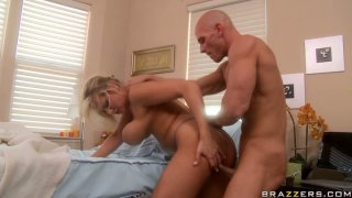 Image: Alanah Rae gets her mouth fucked in 69 position