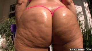 Cellulite booty of Lexxxi_Lockhart gets invated by unauthorized dick image