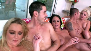 Savannah Stern, Abbey Brooks and Jaelyn Fox know how to have_good fun image