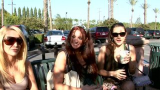 Kinky Monique Alexander invites her friends for pleasing each other image