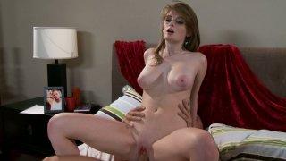 Fire burning Faye Reagan_rides her sex partner image