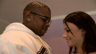 Image: Marli Jane gets seduced by a horny black stud and thrusted hard in her mouth