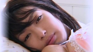 Heavenly cute Asian model Arisa Oda got a nasty attitude image