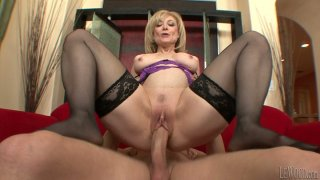 Hefty BBW mom Nina Hartley works with_her gigantic booty image