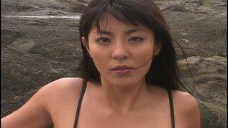 Weird Japanese sex erotic show with busty chick Harumi Nemoto image