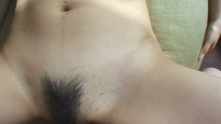 Amateur POV video with Mami Kato getting banged from behind image