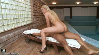 Enduring BBC ride of hot shapely blonde babe Lana S image