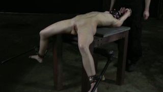 Skinny whore Elise Graves is crazy about_tough BDSM games image