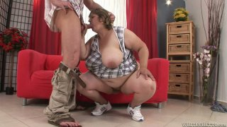 Sexy maid fucks widow after her husbands funeral and the guests have left Xxx movies » Fat house maid zuzana a gives_her master_blowjob image