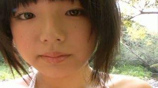 Image: Busty brunette cutie Ai Shinozaki in the forbidden garden