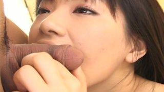 Image: Curvy Japanese beauty Akane Ozora receives nice fingering