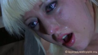 Very patient Cherry Torn gets fucked from behind being caught up in a tricky position image