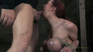 Curvaceous whore Kelly Divine has her tits_tied hard image