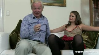 Image: Old daddy drills young slut Jenny Noel in Private sex video