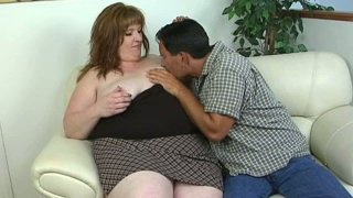 Red head sugar loaf Roxy is filming in a hot porn video provided by All Porn_Sites Pass image