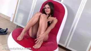 Tiny_Caprice_feels_sexy_when_she_pees_after_masturbating image