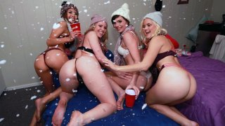Douchey Guy Walks in on BEST PARTY Ever! image