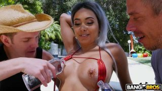 Image: Squirting From Double Penetration With Anal