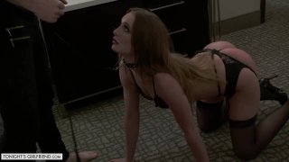 Image: Daisy Stone Gets Fucked While on a Leash