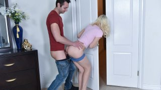 Image: Step brother and his innocent stepsister