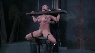 Sexy Toy Torturing For Sexy Adorable Cutie image