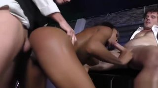 Image: Nadia Jay gets gangbanged and creampied