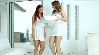 Young Euro lesbians image