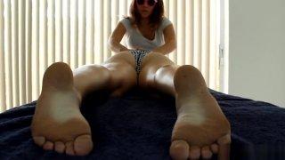 Lesbian Massage: Big Butt Girlfriend image