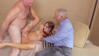 Mature couple young girl hd party in the image
