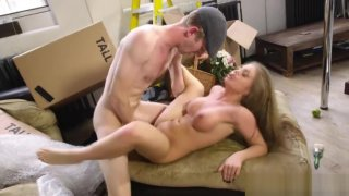 Danny D storms Alessandra Janes stretched pussy image