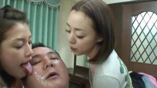 Image: multi japanese girls face lick 2