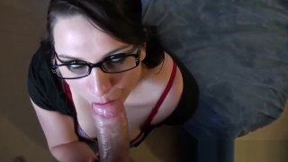 Image: Syrial POV with a big cock in her ass and sprinkled