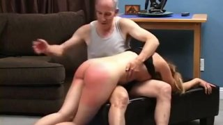 Teen spanked, fingered and pussy spanked image