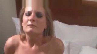 Slut Wife Creampied by Rough BBCs in_Boston Hotel image