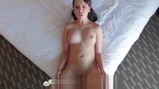 Tiny4k Pretty face Stephanie Carter filled with spunk image
