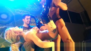 Caroline De_Jaie Max Rajoy incredible fuck on stage SEM 2015 image