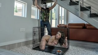 Image: Lady in Cage wants to Learn Anal Stuff from Karl!