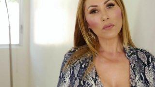 Mature Chinese pornstar with massive big tits Kianna Dior image