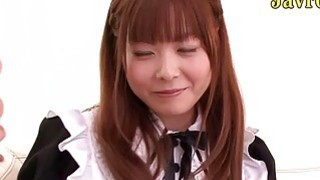 Tokyo teen maid bukkake image